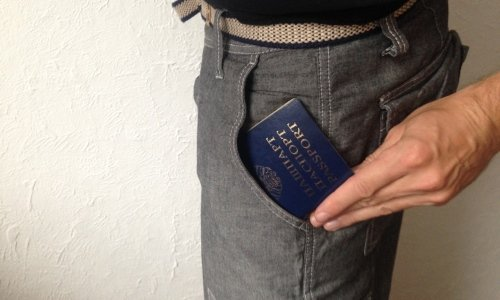 Кража паспорта из кармана