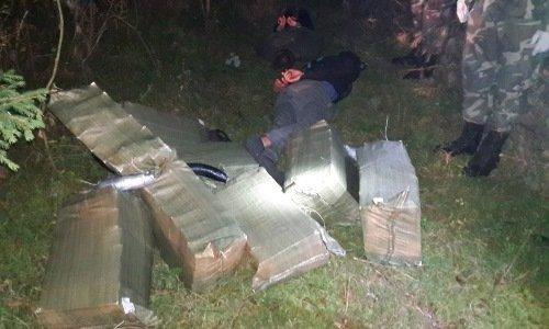 задержаны переносчики белорусских сигарет в Литве