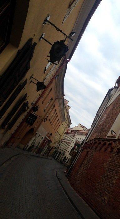 Старая улица Вильнюса