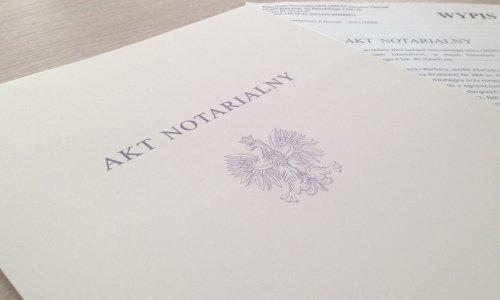 Нотариальный акт в Польше от нотариуса
