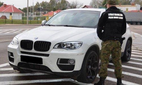 Белая БМВ изъята в Бобровниках