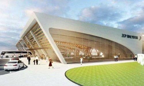 Визуализация нового автовокзала в Белостоке