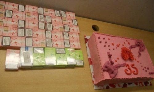 Самодельный торт 35 лет