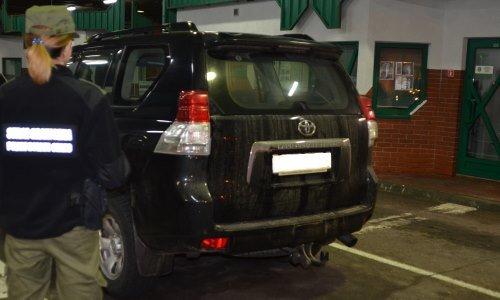 Тойота изъятая в белоруса в Бобровниках