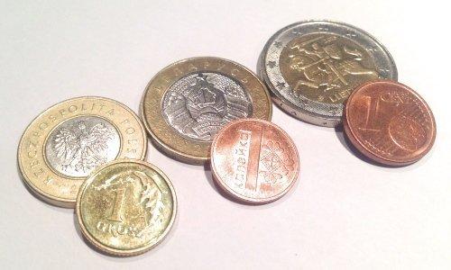 Денежные монеты Литва Беларусь Польша