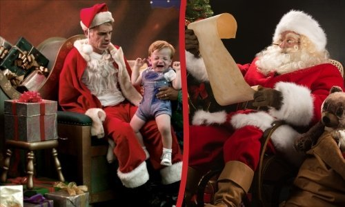Подарки от Деда Мороза и Плохого Санты