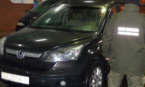 Хонда с белорусской регистрацией задержана в Бобровниках