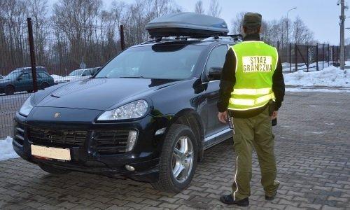 Порше изъятый в феврале поляками на границе у белоруса