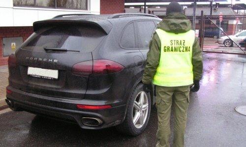 Порше задержанный в Домачево