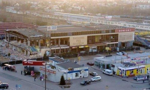 В Белостоке сносят автовокзал