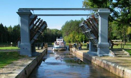 Августовский канал в Гродненском районе Беларуси