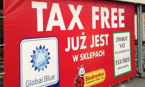 Tax Free в Польше 200 злотых
