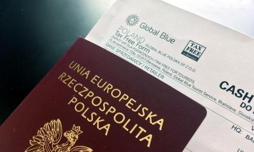 Tax Free в Польше и паспорт гражданина Евросоюза