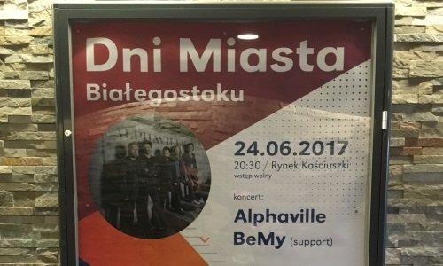 группа Alphaville бесплатно в Белостоке