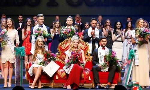 Сцена Конкурса красоты 2017 в белостоке