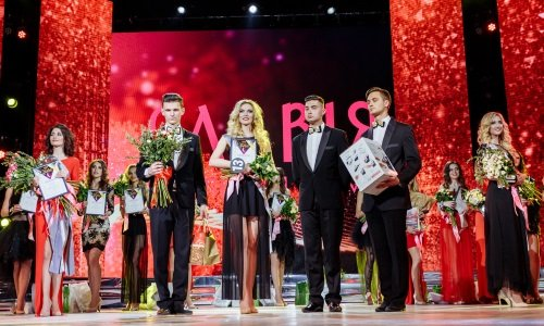 сцена конкурса красоты в гродно 2017