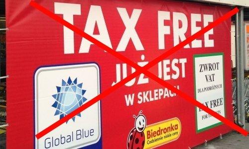 Tax Free в Польше осталась 300 злотых