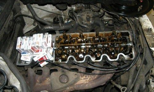 контрабанда в клапане двигателя