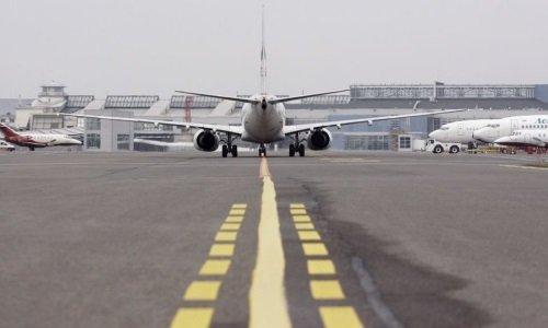 Вильнюсский аэропорт на ремонте