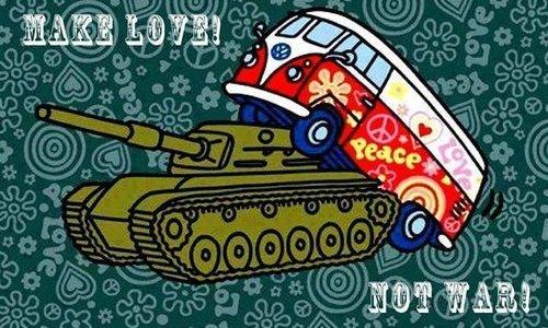 Лучше любить, чем воевать