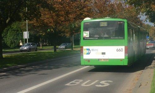 полоса для автобусов в Белостоке