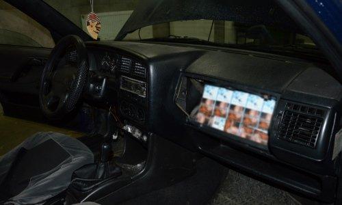 сигаретв бардачке машины