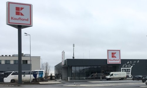 Кауфланд в Белостоке около вокзала