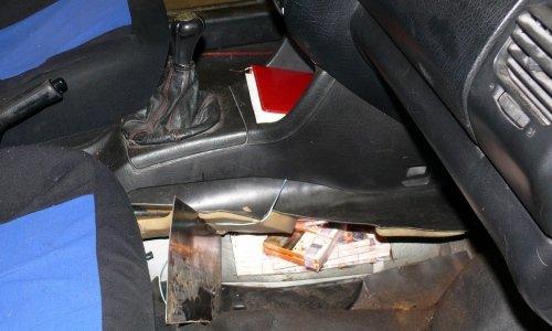 контрабанда в полу машины