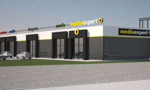 макет нового первого торгового центра в сокулке