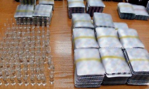 Анаболические стероиды в таблетках и ампулах изъяли на границе в польской Кузнице