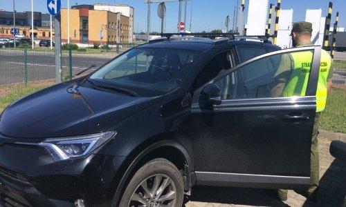 Тойота Рав4 задержана в Кузнице по запросу Интерпола России