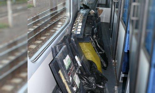 Сигареты в пассажирском поезде Гродно Краков