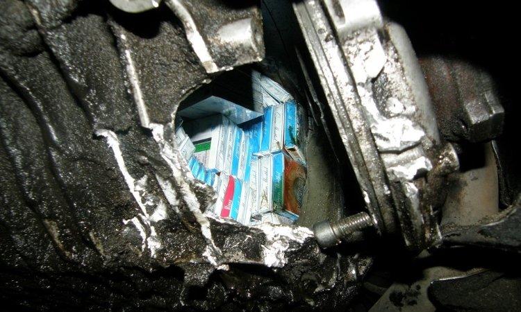 Сигареты в коробке передач в Половцах