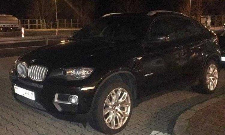 BMW X6 украденное в Германии
