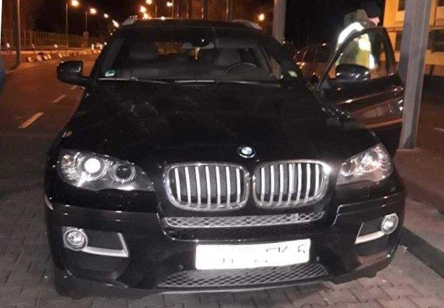 BMW X6 задержали белорусов