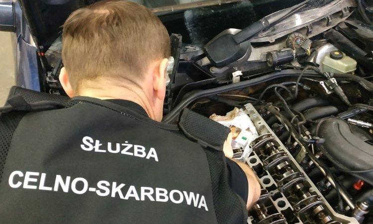 белорус переделал двигатель, чтобы возить контрабанду в Польшу
