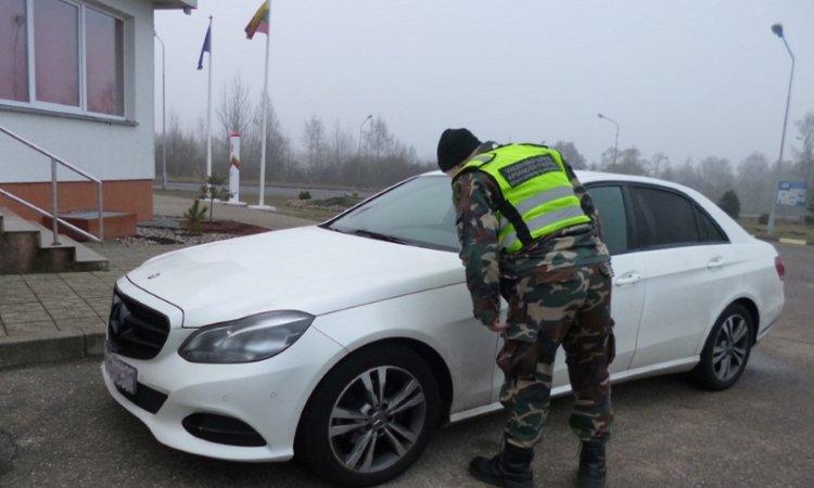 краденный Mercedes из Германии вёз белорус