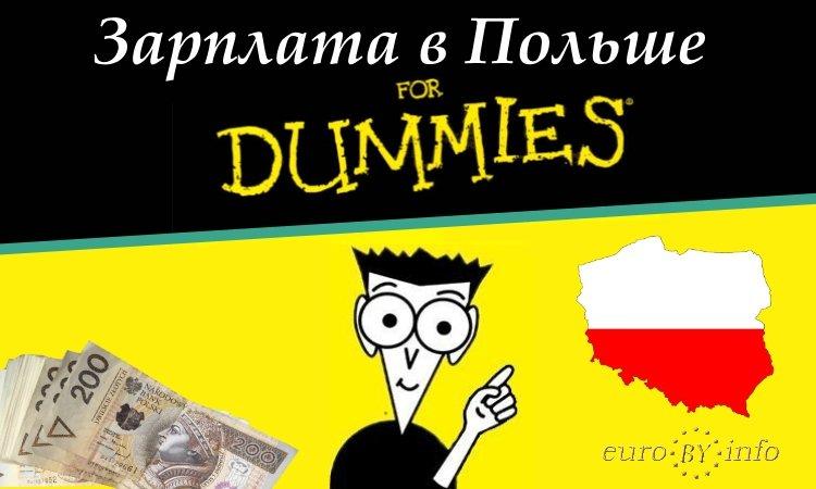 Зарплата для начинающих в Польше
