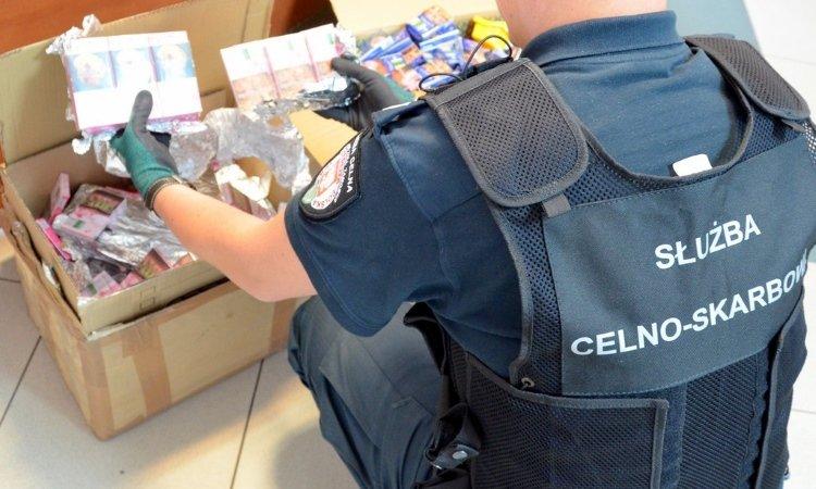 1000 пачек белорусских сигарет отправили под видом игрушек из Белостока в Великобританию