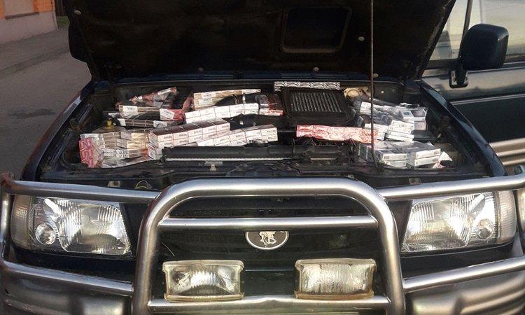 Белорус вез контрабанду сигарет в Литву