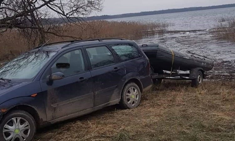 Контрабанда на озере Опиварда