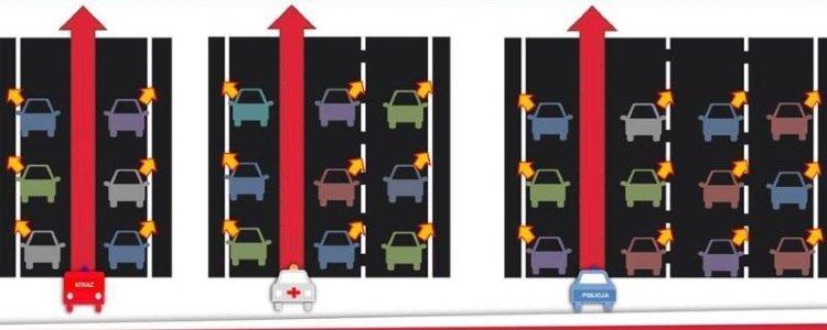 Как правильно пропускать машины экстренной помощи