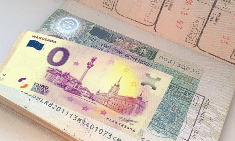 Виза 0 евро