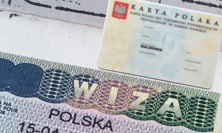 Виза по карте поляка