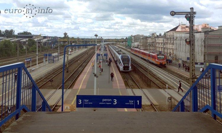 Вокзал в Белостоке
