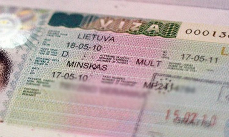 Национальная виза Литва