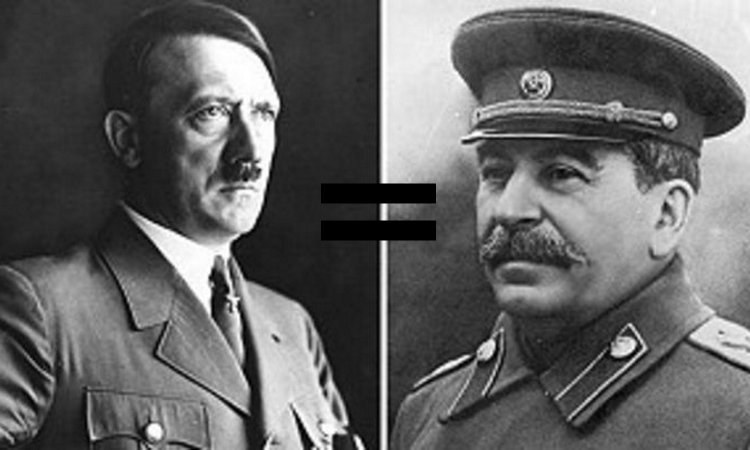 Фашизм равно коммунизм