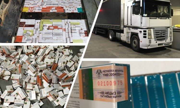 контрабанда стиков из Беларуси в Литву
