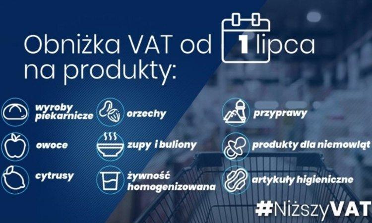 НДС с 1 июля в Польше уменьшили