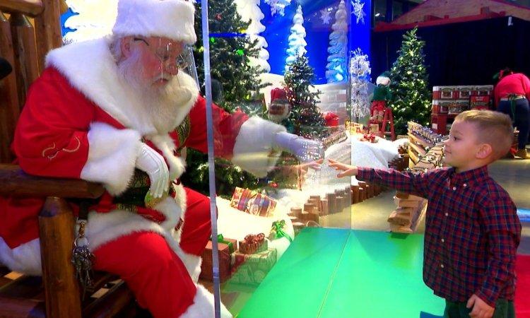 Санта Клаус в 2020 году